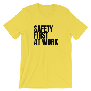 Safety First T